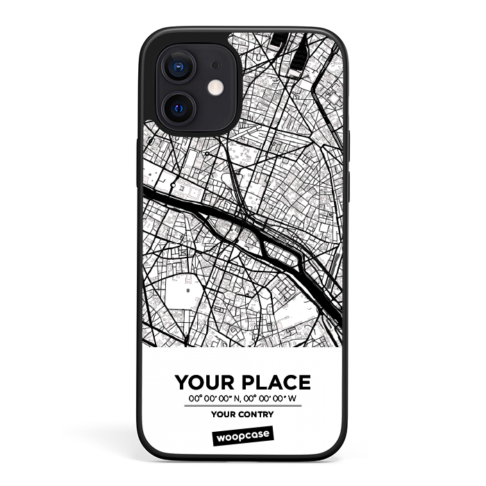 Woopcase 🤩 | Phone case your city - City Map