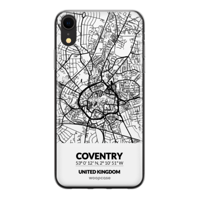 Coventry, Royaume-Uni - Plan de la ville