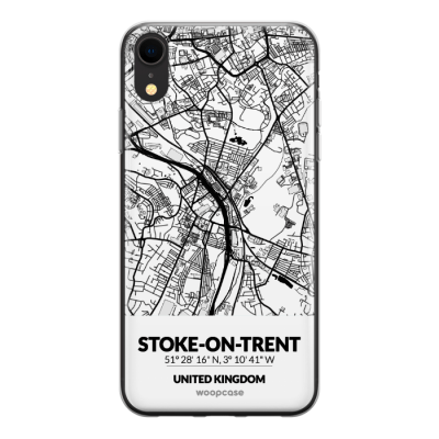 Stoke-on-Trent, Royaume-Uni - Plan de la ville