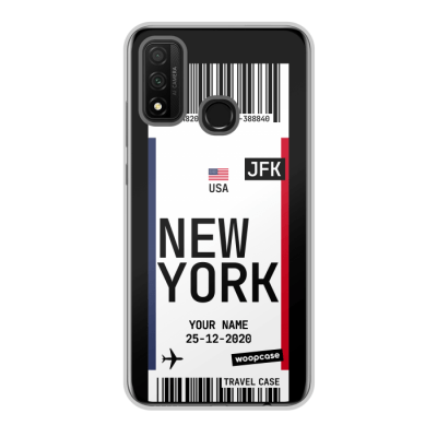 New York - Carte d'embarquement